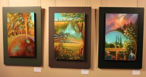 Oeuvres présentées lors de l'exposition