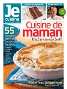 Je Cuisine, CUISINE DE MAMAN