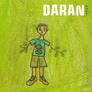 Pochette CD Daran - L'homme dont les bras sont des branches