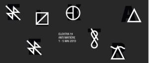 Festival international - arts numériques 14e édition | ANTI/MATIÈRE | 1er au 5 mai 2013