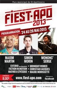 Fiest-Apo : un festival diversifié à ne pas manquer !