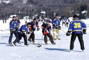 Pond Hockey Lac-Beauport ce samedi 2 février!