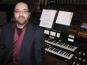 Denis Gagné, organiste