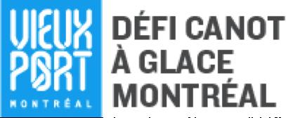 Première édition du Défi canot à glace Montréal au Vieux-Port
