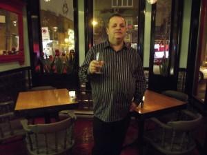 Harold Côté le propriétaire de Chez ma grosse truie chérie