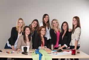 L'équipe Journée Gala:Mélissa Dumont, Ariane Larouche, Flore Bibeau, Marie-Léa Bilodeau-Dion, Léa Boucher-Telmosse, Vanessa Laforge, Roxanne Tardif et Marie-Pier Roy-Dubé