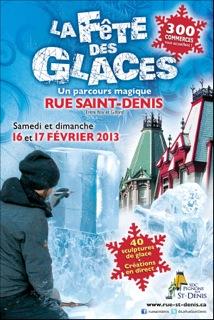La Fête des Glaces revient en grand sur la rue Saint-Denis!
