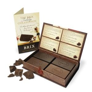 Coffret collection BRIX chocolat pour le vin