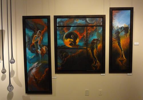 Exposition de peintures et de dessins