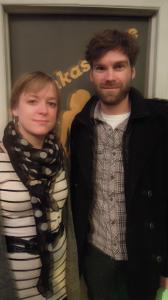 Julie Doucet et Kevin McIntyre