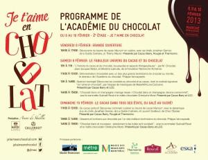 """Je t'aime en chocolat"""" au Marché Bonsecours"""