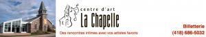 Spectacle de Jérôme Charlebois est annulé au Centre d'art La Chapelle