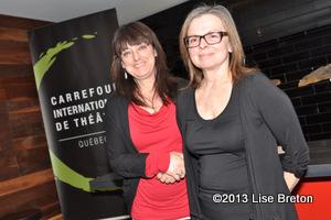 Dominique Violette directrice générale et Marie Gignac directrice artistique