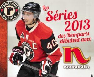 Les séries 2013 des Remparts débutent avec Normandin !