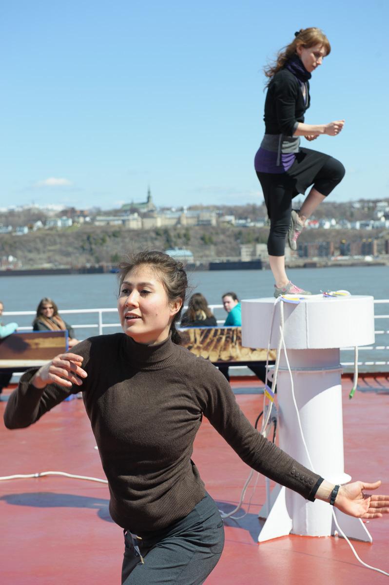 La 2e édition de l'Évènement Québec Danse à Québec,