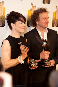 Anne Dorval et Daniel Brière