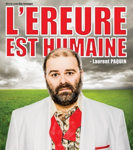 Laurent Paquin - L'erreur humaine