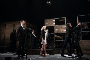 Les comédiens de la pièce Hamlet