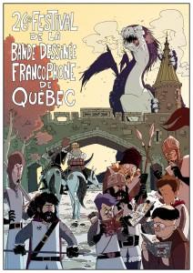 26e Festival de la BD francophone de Québec: