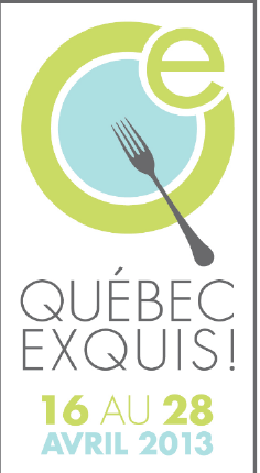 Le festival gourmand Québec Exquis