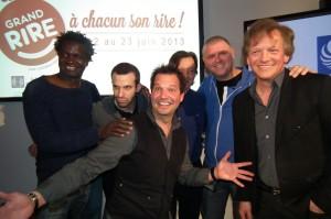 Boucar Diouf,Sylvain Parent-Béard, Dominic Paquet, André-Philippe Gagnon