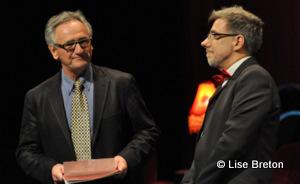 Martin Tremblay, président du CA et Jacques Leblanc, directeur artistique
