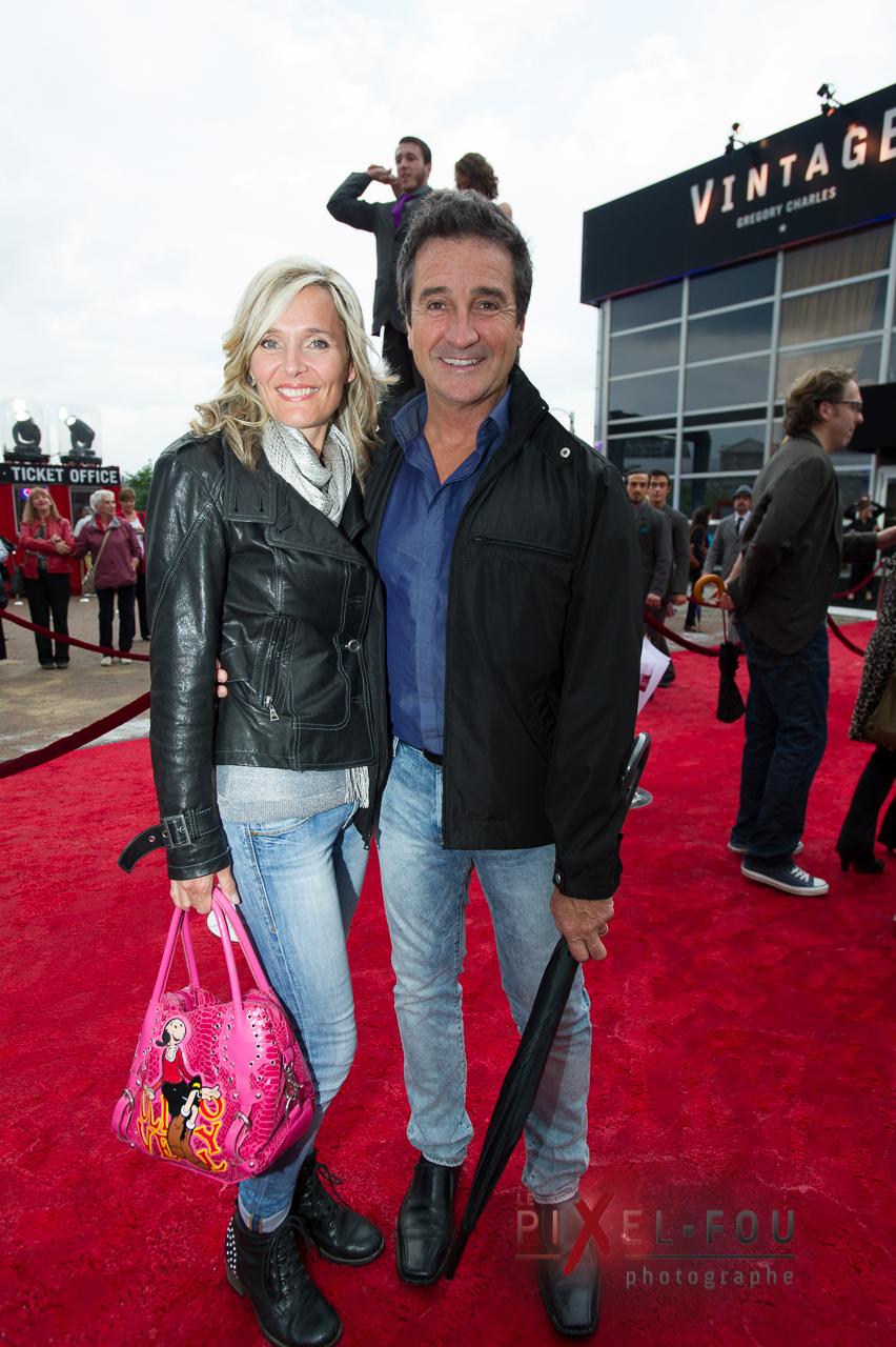 Marie-Josée et René Simard (cliquez)