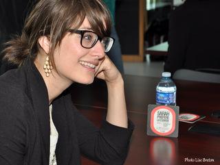 Geneviève Boivin-Roussy dans le rôle de Zoey