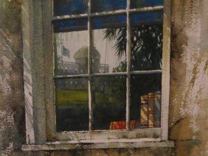 La fenêtre du roman