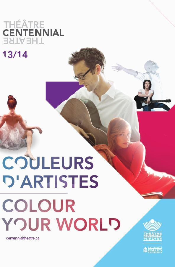 Théâtre Centennial - Programmation 13-14 COULEURS D'ARTISTES