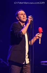Le chanteur Marc Léveillé