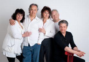 acques Girard, Pierrette Robitaille, Luc Senay, Bernard Fortin