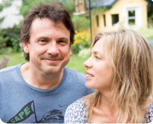 Claude Legault et Céline Bonnier