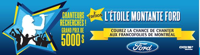 L'Étoile montante Ford - Marc Déry, mentor des finalistes du concours