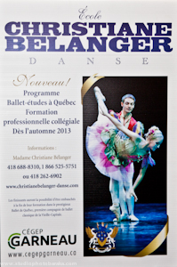 l'École de danse Christiane Bélanger