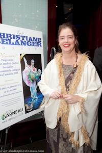 Madame Christiane Bélanger, fondatrice du Ballet de Québec
