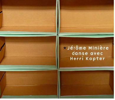 Jérôme Minière danse avec Herri Kopter