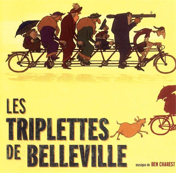 Les Triplettes Of Bellevile Tourne | 2013