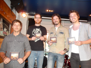 Julien Martel, Jonathan Girard, Frank Martin, Anthony Doyon