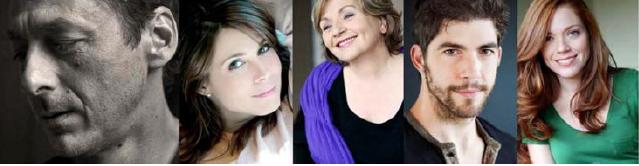 Luc Picard, Julie Perreault, France Castel Pierre-Yves Cardinal ,Catherine Bérubé