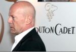 Bruce Willis au Mouton cadet Wine Bar à Cannes