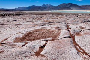 La salar de Talar-désert d'Atacama