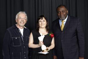 Alain Chartrand, Sylvie Courtemanche et Maka Kotto