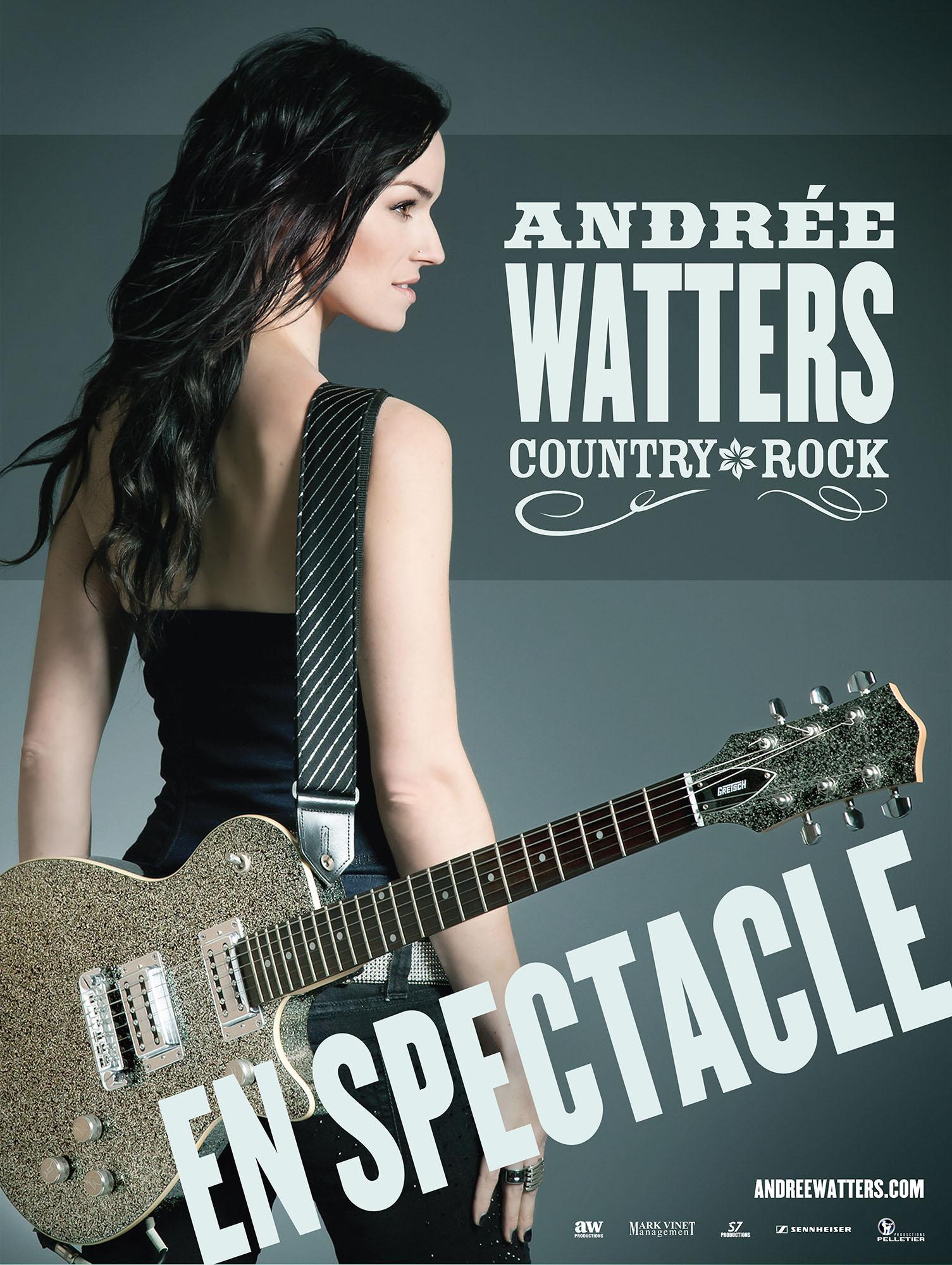 Andrée Watters, 15 juin à 21 h à Sainte-Catherine.
