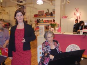Judith Bouchard + Louise Delisle Bouchard au piano