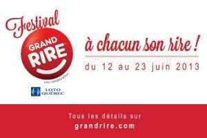 Festival Grand Rire 2013: programmation du mercredi 12 juin