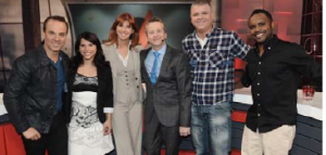 Gino Chouinard, Anaïs Favron, Chantal Lacroix, André Robitaille, Dominic Paquet, Pierre-Yves Lord