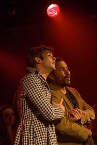 """La chanson """"J'te protégerai"""" avec Jean-Sébastien Bonneau et Patrick Carrière"""