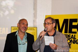 Moustapaha Terki et Jacques Primeau