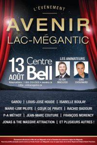 Avenir Lac-Mégantic Le mardi 13 août à  20h / au Centre Bell